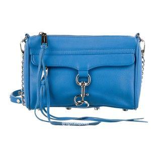 Rebecca Minkoff M.A.C. Blue Crossbody Bag EUC